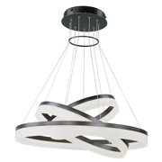 Saturn 3-Tier LED Pendant