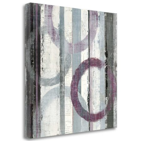 Tangletown Fine Art 'Plum Zephyr II' Print on Wrapped