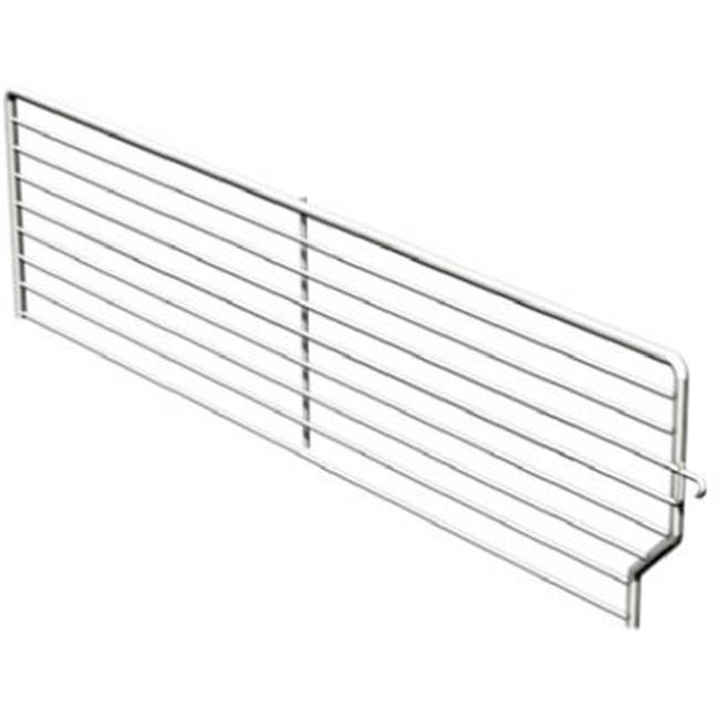 Lozier Store Fixtures BFD316 BCP 3 High x 16 Deep inch Wire bin Divider - Pack Of 40