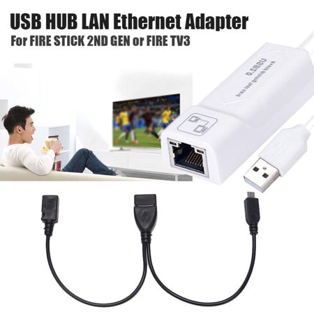 LAN Ethernet Adapter for AMAZON FIRE TV 3 for STICK GEN 2 or Or 2 Adapter - image 6 of 6