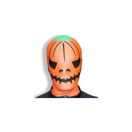 Skelly Reverses to Pumpkin Zanheadgear WNFM096 Neoprene Full Face Mask