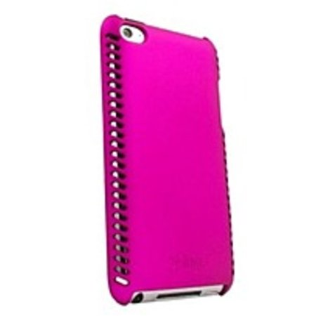 Ifrogz Luxe Original Case - iFrogz Luxe Lean IT4LL-PNK Case for Apple iPod Touch 4G- Injection molded polycarbonate - Pink