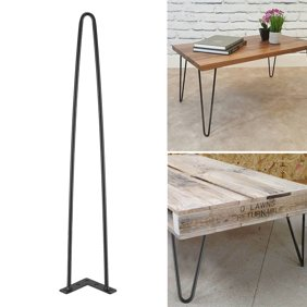 Black Hairpin Legs Set For 4 Heavy Duty Table Legs Home