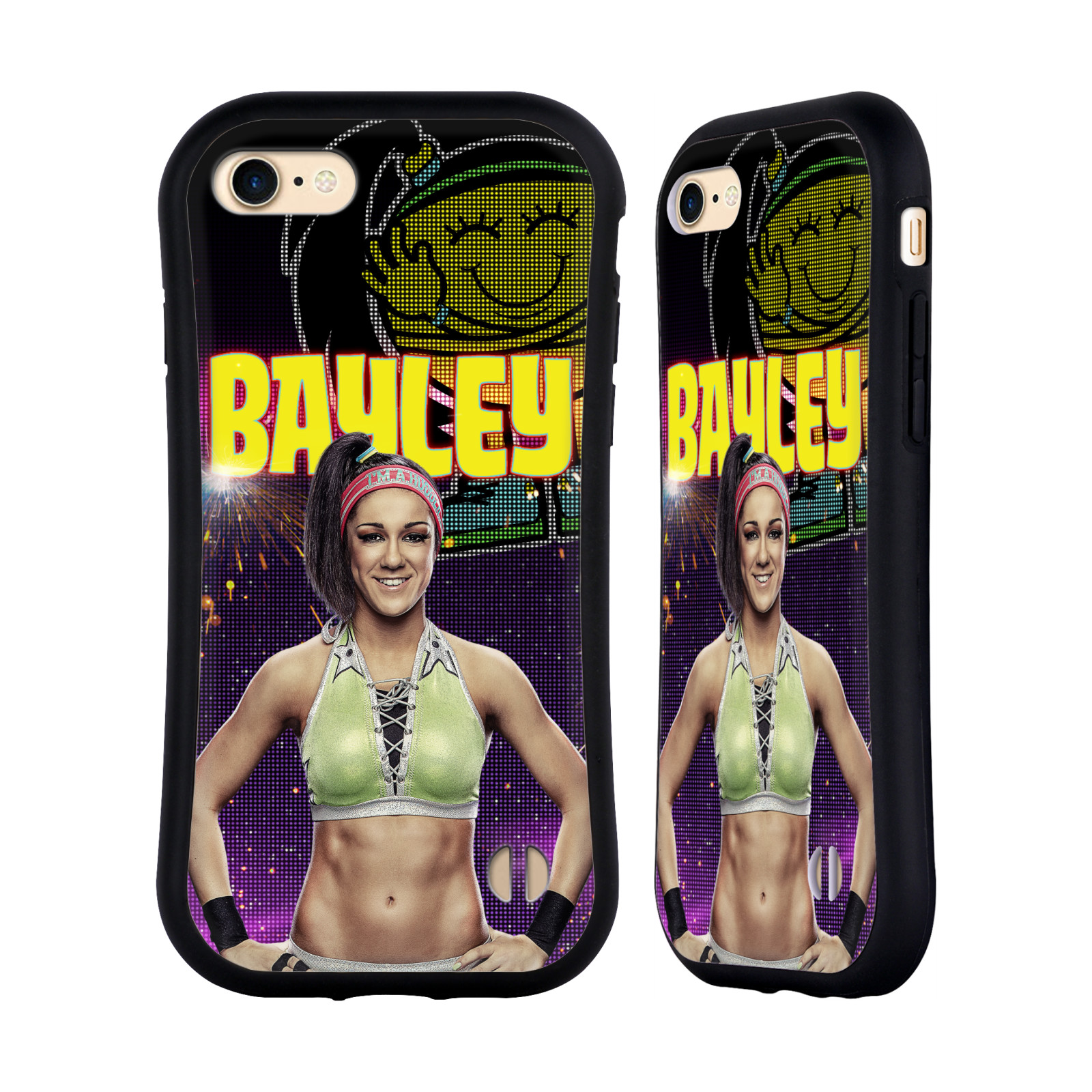 OFFICIAL WWE BAYLEY HYBRID CASE FOR APPLE IPHONES PHONES