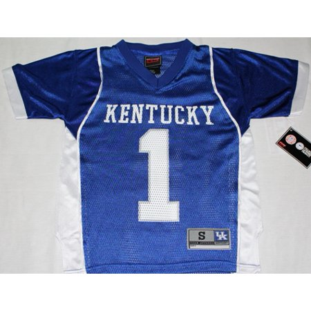 check out b9976 c1a2e Kentucky Wildcats # 1 Youth Football Jersey