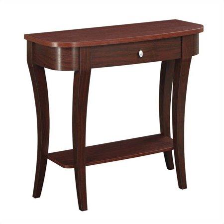 Pemberly Row Console Table - Mahogany Mahogany Console Table