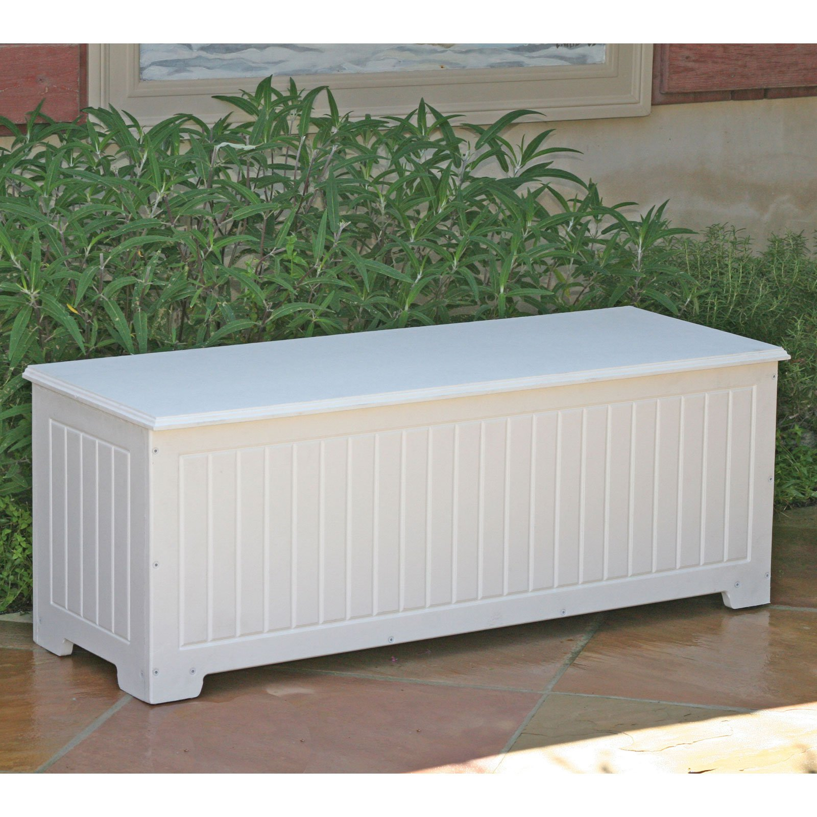 Sydney Flat Top 48 In Recycled Plastic Storage 40 Gallon