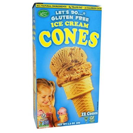 Let's Do - Gluten Free Ice Cream Cones - 1.2 oz (pack of