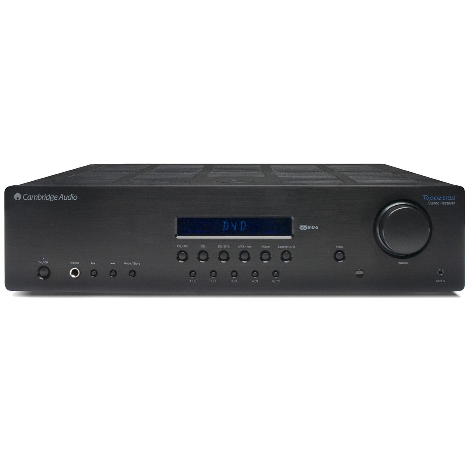 Cambridge Audio Topaz SR10 Powerful AM FM Stereo Receiver by Cambridge Audio