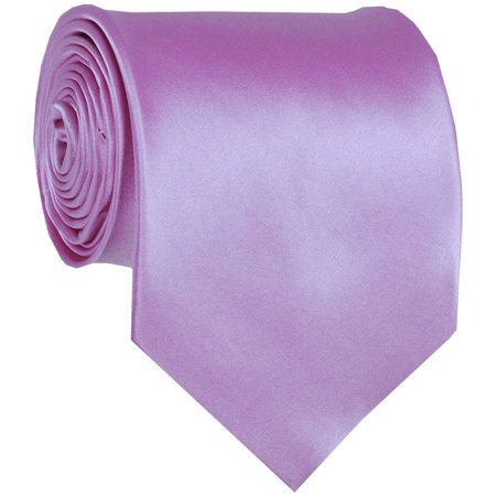(ADF-13 - Mens - Lilac - Solid Necktie)