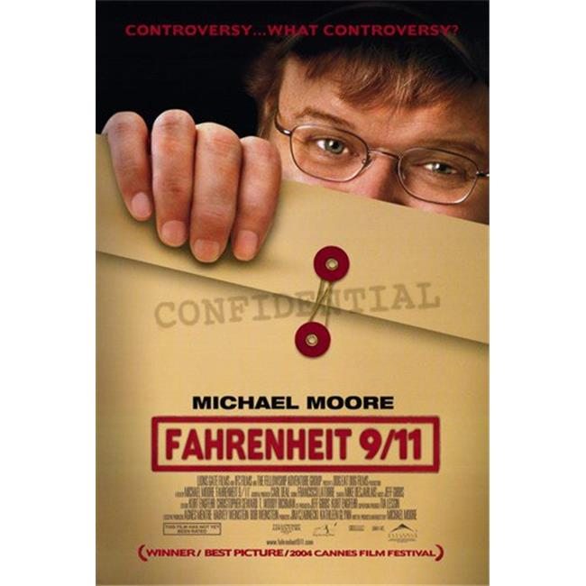 Posterazzi MOV214267 Fahrenheit 9-11 Movie Poster - 11 x 17 in. - image 1 of 1