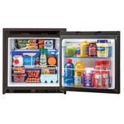 NORCOLD NR751BB Single Compartment Refrigerator With Freezer, Black