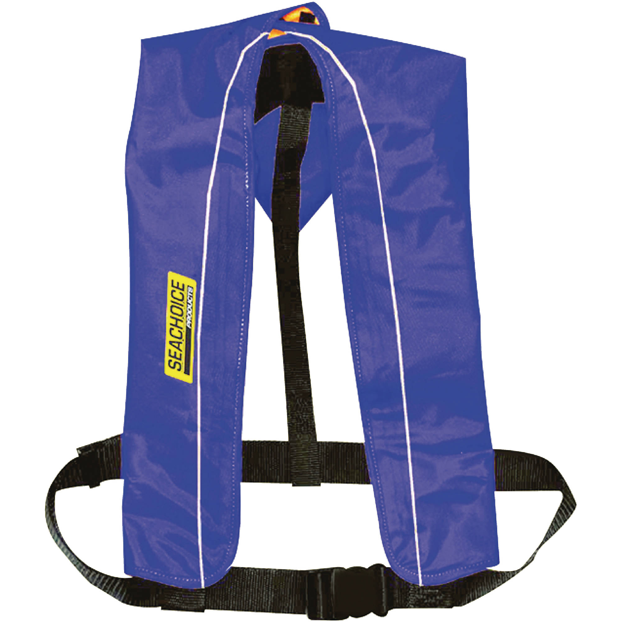 Seachoice Type V Inflatable PFD 24G Manual Auto, Blue by Seachoice Products