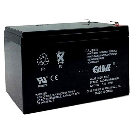 CASIL 12v 12ah F2Replacement APC Back-UPS ES BE750BB UPS Battery