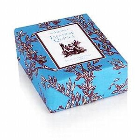 Seda France Japanese Quince Classic Toile Paper-Wrapped Bar (Best Soap Japans)