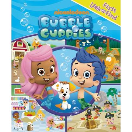 First Look and Find Bubble Guppies - The Bubble Guppies Halloween