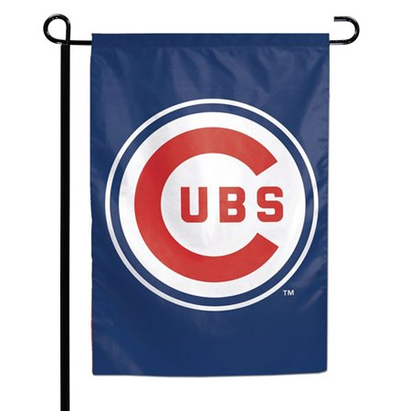 Chicago Cubs WinCraft 125 X 18 Double Sided Garden Flag