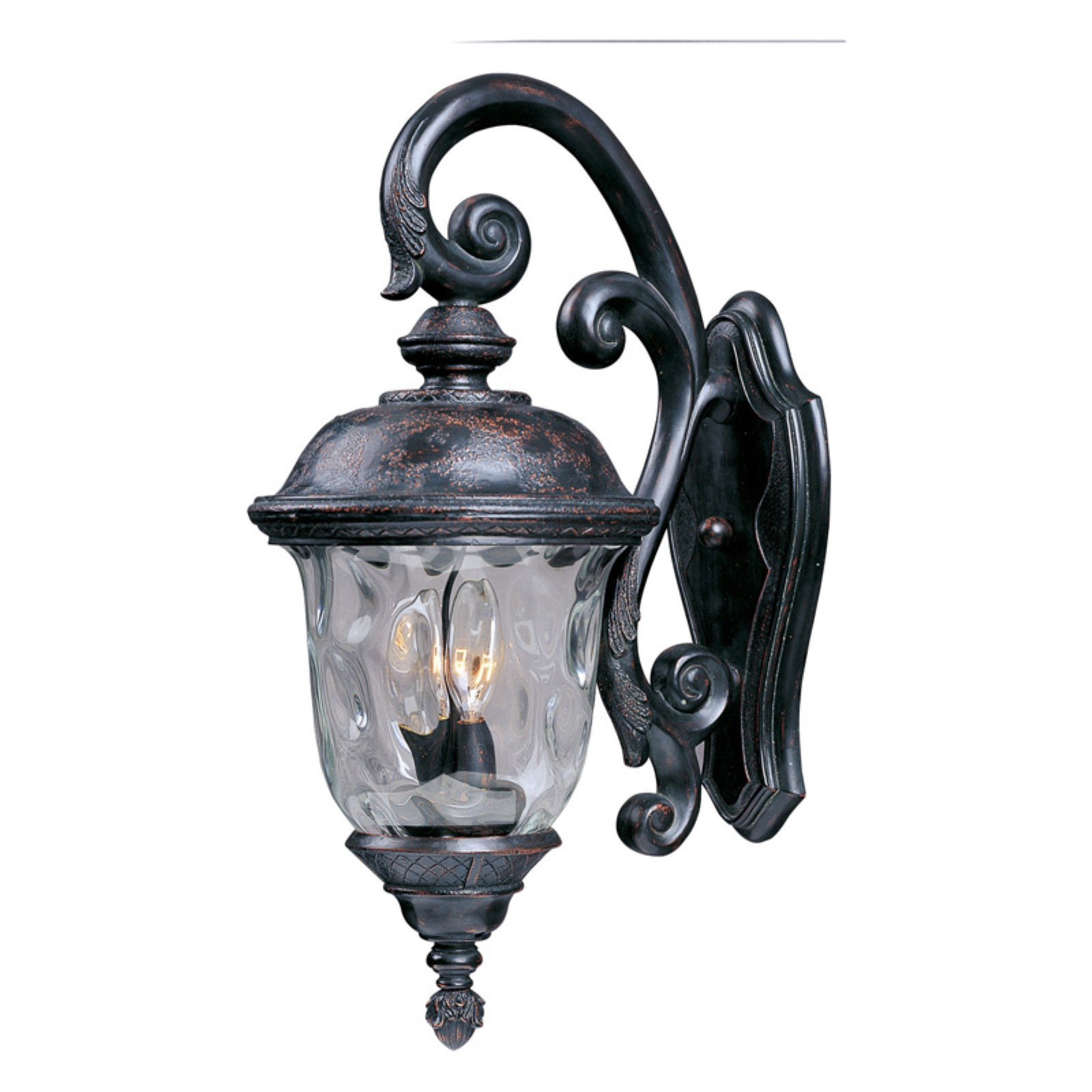 Maxim 3496WGOB Carriage House DC Outdoor Wall Mount - 9W in. Oriental Bronze