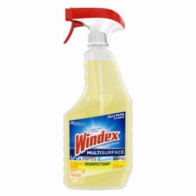 Am Surface Supply (NEW 2PK Windex 26 OZ Multi Surface Disinfectant CleanerIndoor Antibacterial)