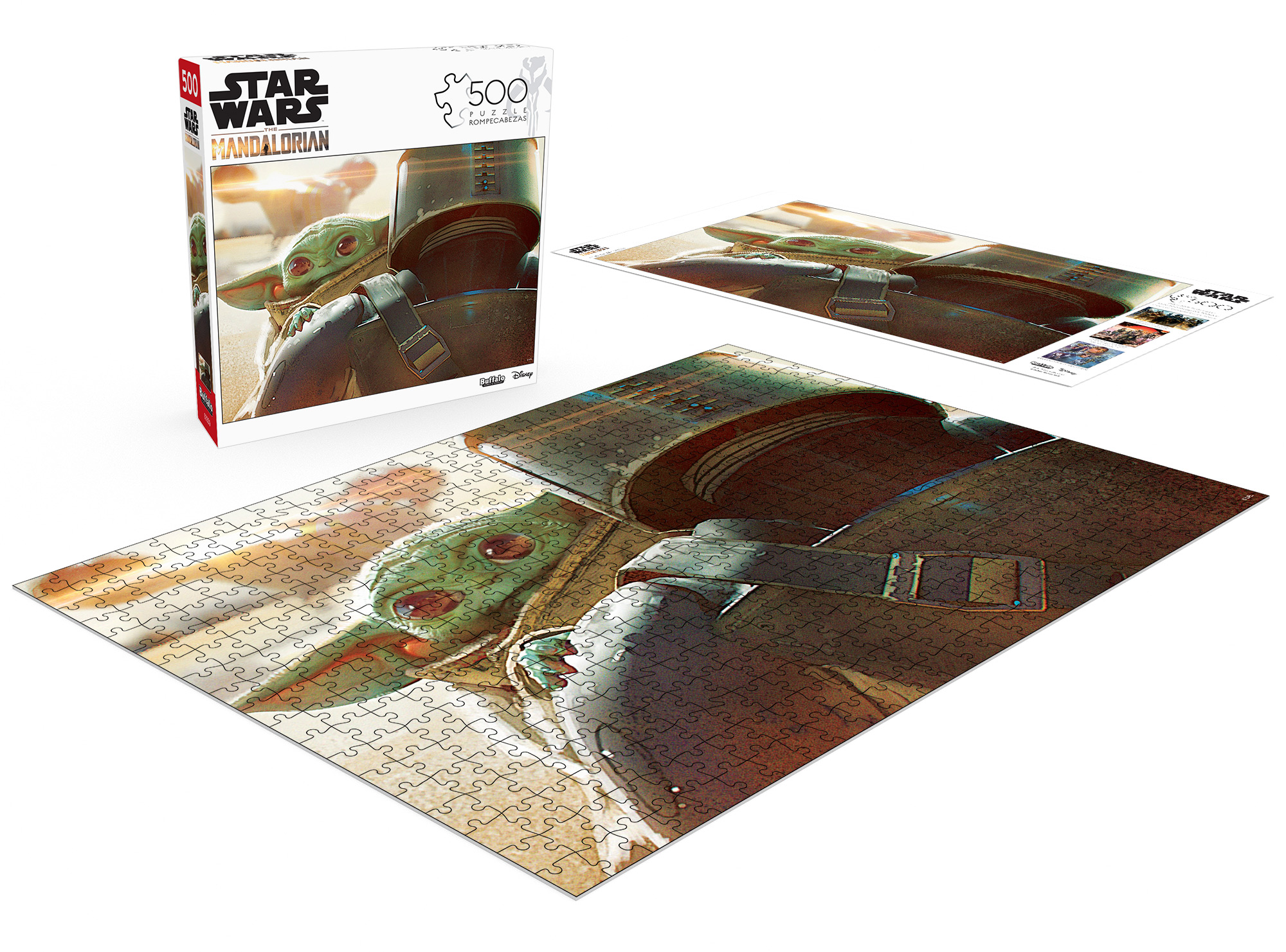 The Child 500 Piece Jigsaw Puzzle for Adults /& for Kids Age 10 and Up Ravensburger 16561 Star Wars The Mandalorian