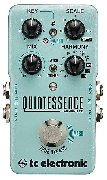 TC Electronic Quintessence Harmonizer Guitar Pedal by TC Electronic