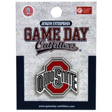 - Ohio State Buckeyes Logo Lapel Hat Tie Pin Officially Licensed