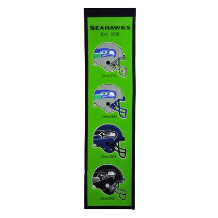 Winning Streak - NFL Fan Favorite Banner, Seattle Seahawks - Seahawks Banner