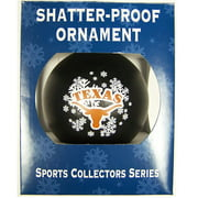 Texas Longhorns Official NCAA 3 inch  Shatterproof Christmas Ornament by Topperscot