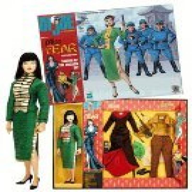 GI Joe Miss Fear 12 Action Figure Gift Set Limited to 3,500 Sets by