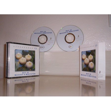 Lifescapes: Best of Massage & Meditation By Calming Massage Performer Format Audio CD Ship from