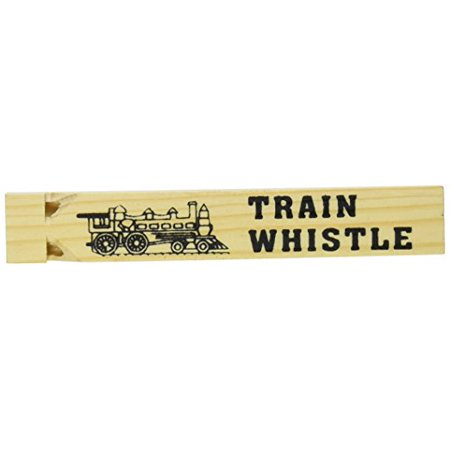 - Large Wooden Train Whistle (Package of 1) Choo-Choo Printed on the Other Side