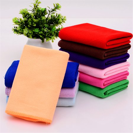 Microfiber Face Towels Washcloths (10-Pack