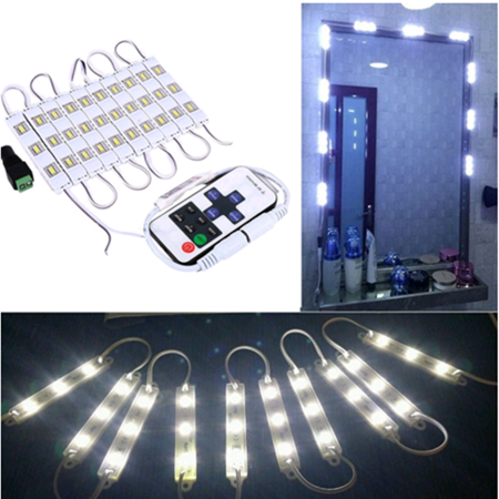 Dressing Mirror Lighted Cosmetic Makeup Vanity Led Light with (Lighted Controller)