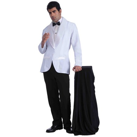 Mens Vintage Hollywood Formal White Jacket Halloween Costume - 2017 West Hollywood Halloween Parade