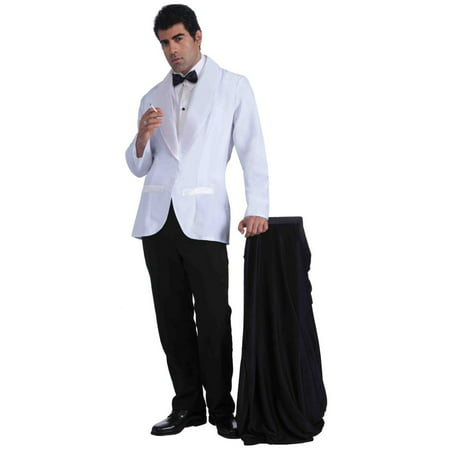 Mens Vintage Hollywood Formal White Jacket Halloween Costume - Halloween Costume Vintage
