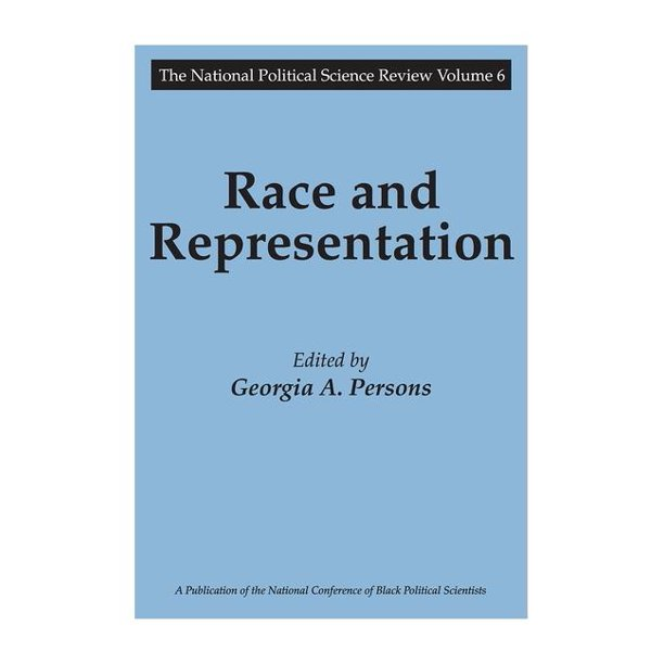 National Political Science Review: Race and Representation (Paperback)