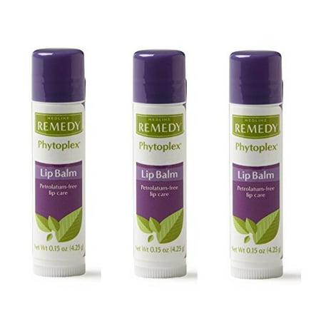 Medline MSC092915H Remedy phytoplex Lip balms (3 Packs) - Medline Lap Sponges
