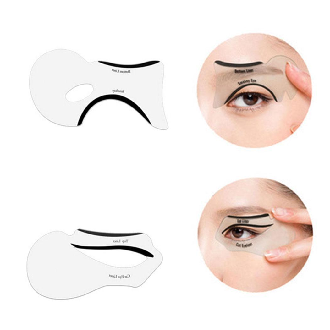 Eyeliner Template | Ifair Mall 10 Pcs Eyeliner Stencil Models Template Liner Eye Makeup