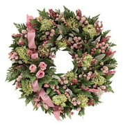 Urban Florals Pinking of You Wreath