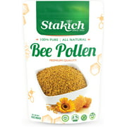 Stakich Natural, Unprocessed Bee Pollen Granules, 1.0 Lb