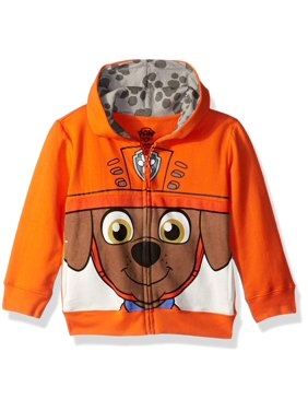 Paw Patrol Zuma Big Face Zip-Up Hoodie Sweatshirt (Toddler Boys)
