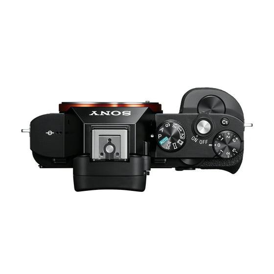 Sony Alpha a7 Full Frame Mirrorless Camera - Black - Walmart.com