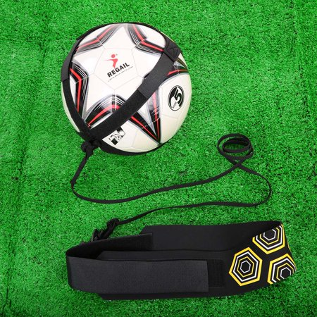 Solo Soccer Trainer Soccer Ball Kick Training Practice Assistance Trainer Adjustable Belt - image 6 of 7