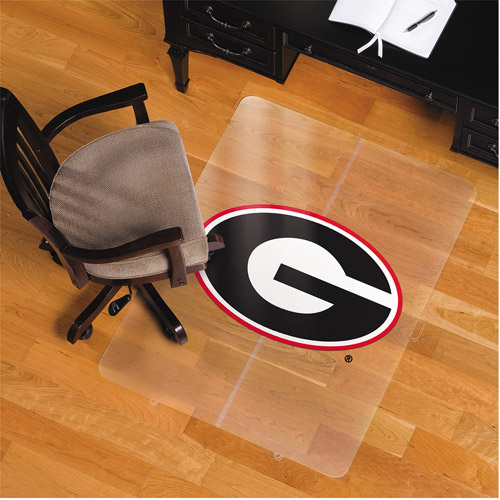"ES Robbins University of Georgia Bulldogs 48""x36"" Foldable Chairmat for Hard Floors"