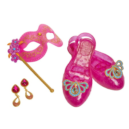 Disney Princess Elena of Avalor Masquerade Gown Accessory Set includes Masquerade Mask, earrings and Shoes