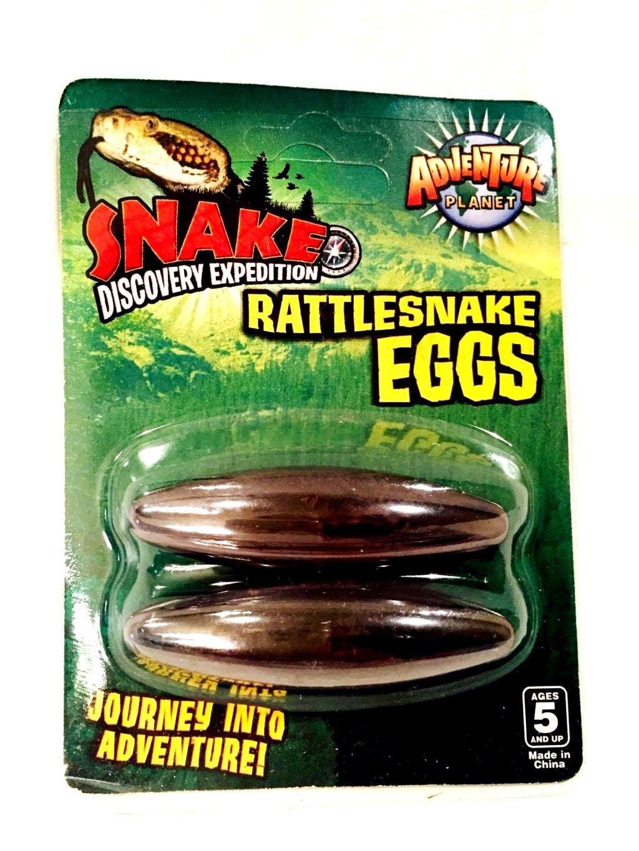 "2.5/"" Singing Buzzing Rattlesnake Eggs Child Hematite Magnets Therapy LARGE"