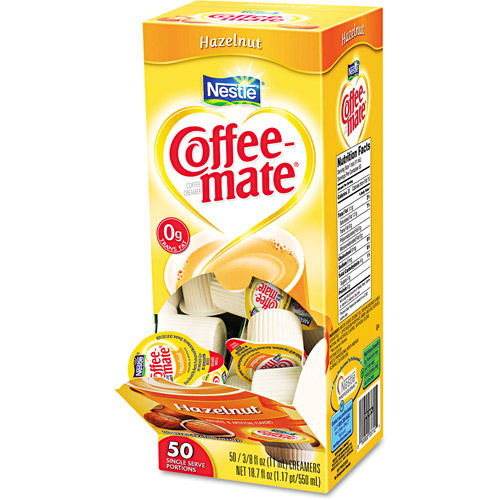 Coffee-mate Hazelnut Creamer, 50ct