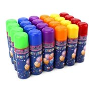 12 Cans LA Wholesale Store Silly Crazy Party String Spray Streamer, 12 Cans
