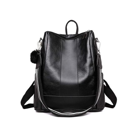 Fashion Women Backpack Travel Shoulder Bag Girls Ladies PU Leather