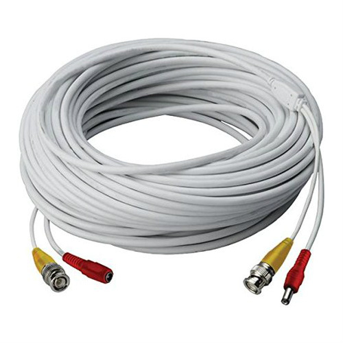 Lorex Cb250urb Video RG59 Coaxial BNC/Power Cable, 250'